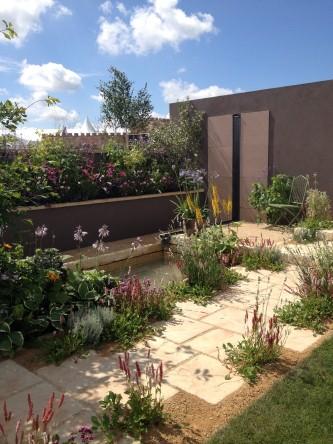 The garden at RHS Flower Show Tatton Park