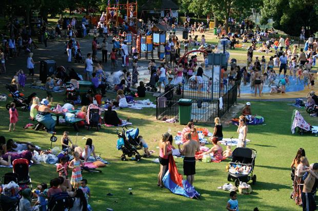 Wimbledon Park in the London Borough of Merton