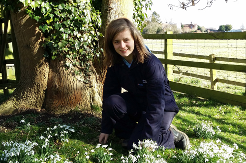 YoungHort Ambassador Fiona Willetts - image: RHS