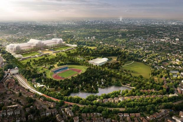 ZhongRong proposal for Crystal Palace and park