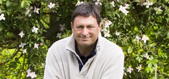 Alan Titchmarsh-face of Waitrose gardening