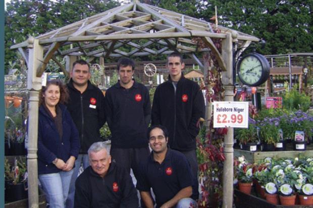 Ansell Garden Centre team