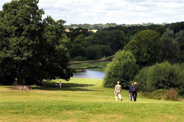 Staunton Country Park benefited from Parks for People funding