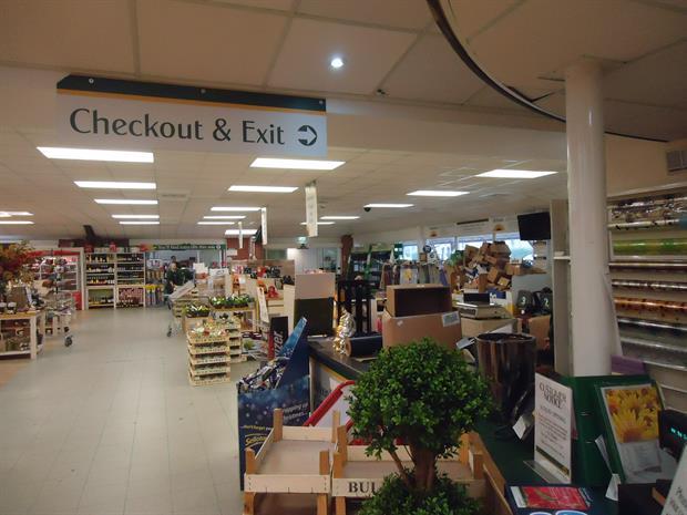 Garden centres start January slowly