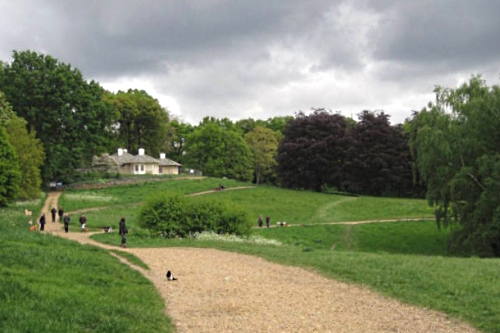 The Kenwood House dairy and copper beech trees - image: protectourponds.org.uk