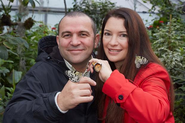 Chris Collins and Rachel de Thame