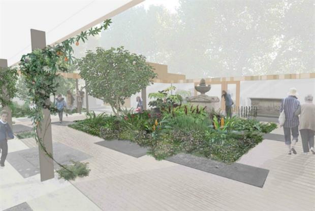 Design plans for the Garden Museum