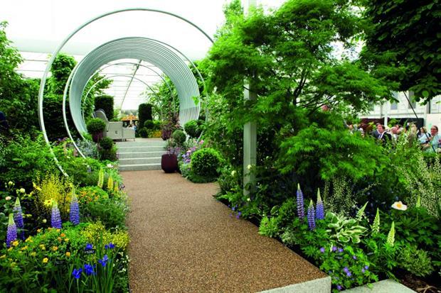 'Spring' by Hillier Nurseries garden wins gold at RHS Chelsea Flower Show 2017 - image: HW