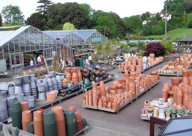 Garden centre sales up