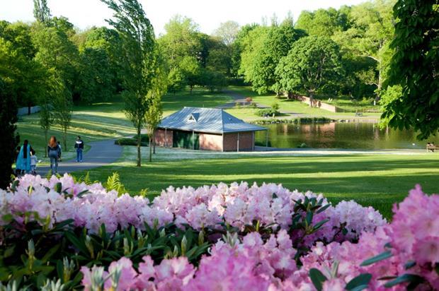 Handsworth Park, Birmingham - parks benefit physical and mental health