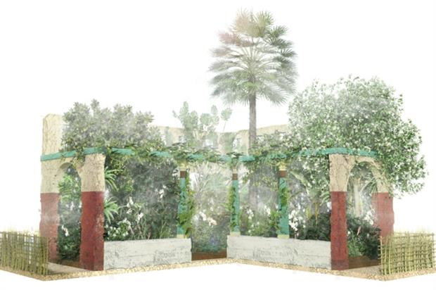 Thomas Hoblyn's Chelsea 2016 Discovery Garden. Image: Supplied