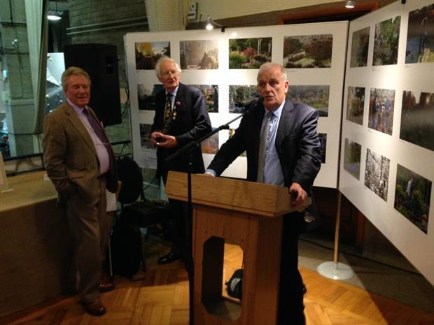 Gordon Rae, Peter Seabrook and Kelvin McKenzie