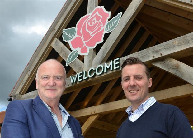 Martin Stewart and Terry Head