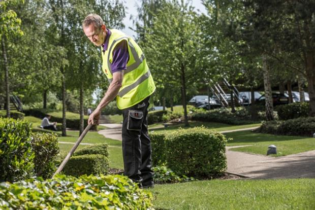 Grounds maintenance is part of a much larger contract. Image: Mitie Landscapes