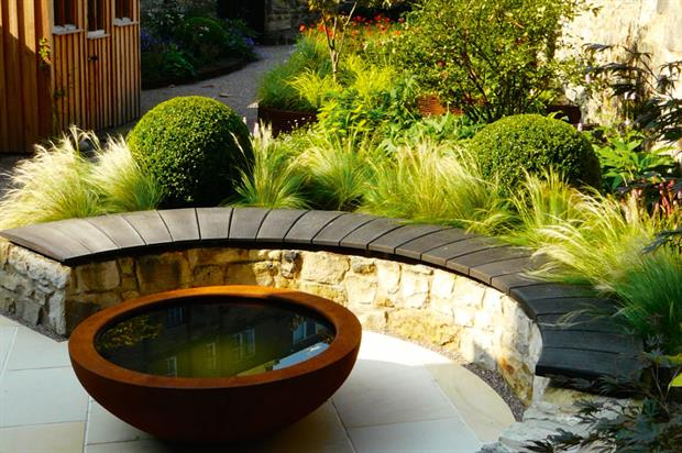 Domestic Garden Construction (cost £30K-£60K) - Water Gems (Alba) Private residence, Edinburgh EH14