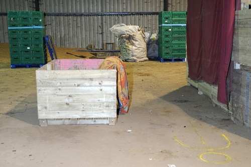 The potato box used to lift the injured worker - image:HSE