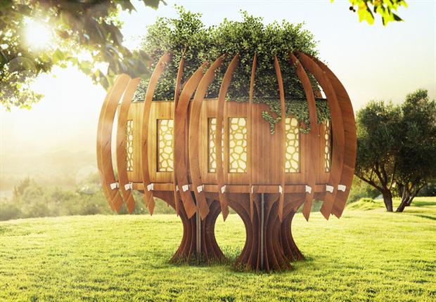 John Lewis treehouse