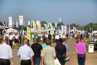 Saltex: A third more visitors but a more compact site. Photo Alex Deverill