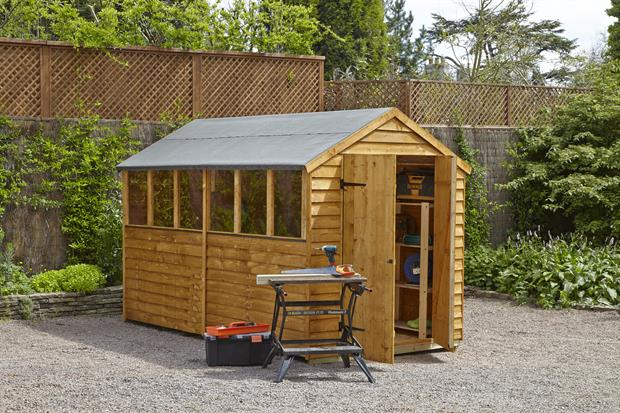 Forest Garden shed