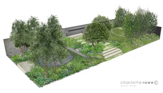 Soldier's Charity garden