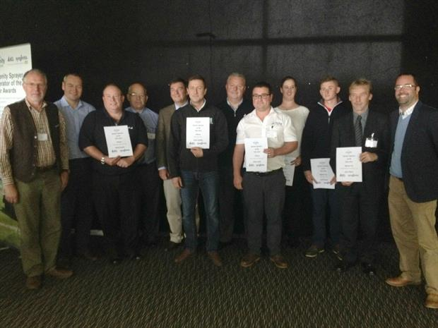 Amenity Sprayer Operator of the Year Award winners gather at the Amenity Forum Conference