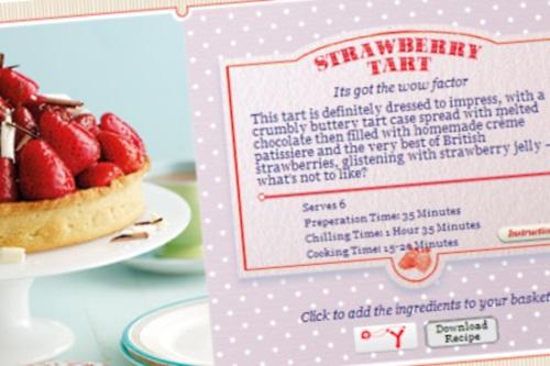 Online advert - image:British Summer Fruits
