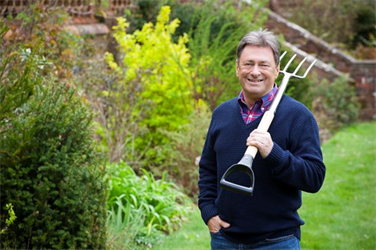 Alan Titchmarsh-face of Waitrose gardening