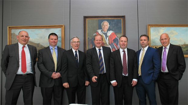 Johnsons of Whixley meet HSBC