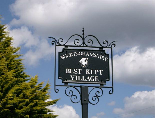 Best kept village sign