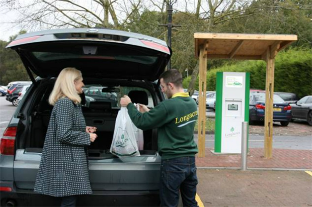 Longacres click and collect