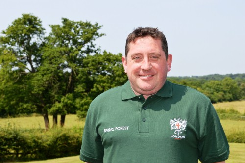 Head of Epping Forest visitor services Tony Fenwick - image: Epping Forest