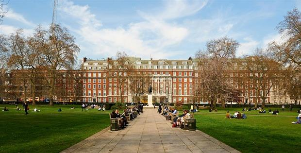 Grosvenor Square, London - Image Royal Parks