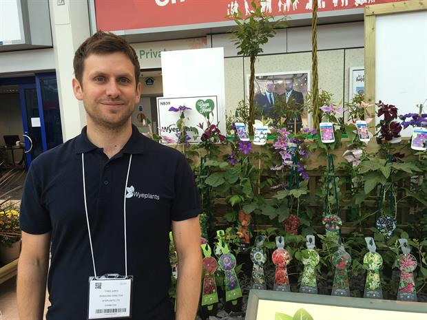 Wyeplants' commercial director Chris James