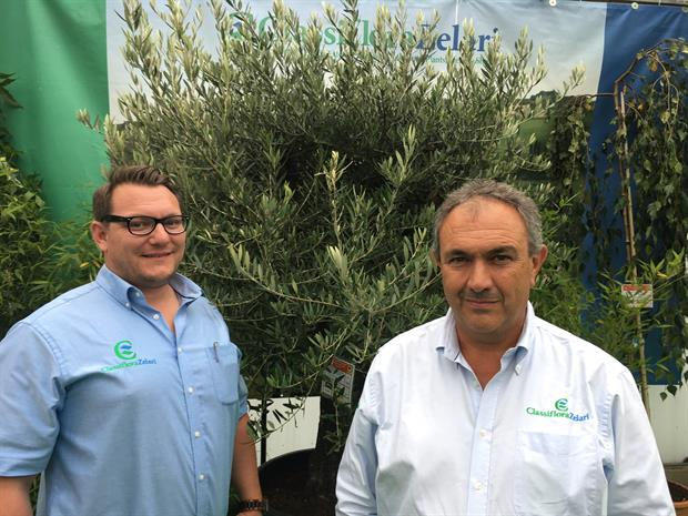 Classiflora Zelari's Adam Wolczynski and Stefan Sogni
