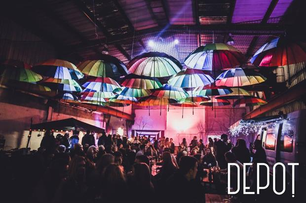Depot's 24,000 sq ft space can be used for pop-up events, food, drink and music