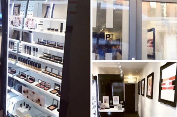 Treatments as well as HD Brows' make-up range are available at the store (@hdbrows)