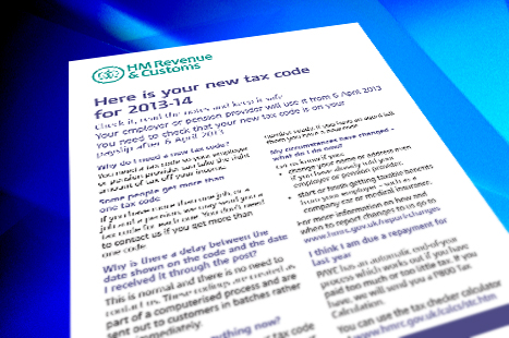 Check your tax code to make sure you are paying the correct amount