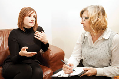 When GPs access the right professional help for mental health problems, they show good outcomes (Photograph: Istock)