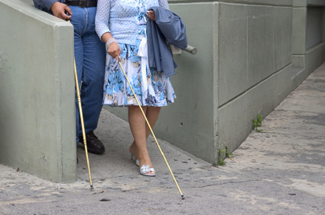 Many practices have ramps, which assist blind people's access to the surgery (Picture: iStock)
