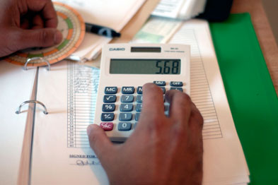 Calculate costs (Photo: JHLancy)