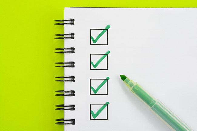 QOF QI checklists for 2021/22