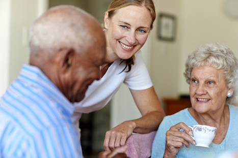 Social prescribing initiatives can help tackle loneliness as well as providing practical support (Picture: Morsa Images/Getty Images)
