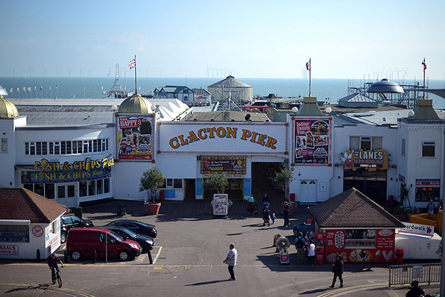 Clacton-on-Sea is an area that has struggled to recruit GPs (Picture: Carl Court/Getty Images)