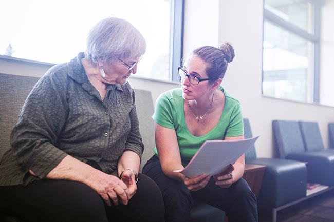 Social prescribing is a central part of this service (Photo: Getty Images)