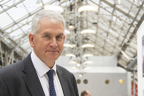 Partnership review chair Dr Nigel Watson (Photo: Pete Hill)