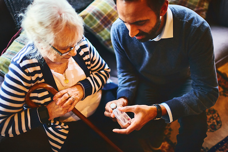 Care home residents will benefit from regular medication reviews (Picture: iStock.com/Dean Mitchell)