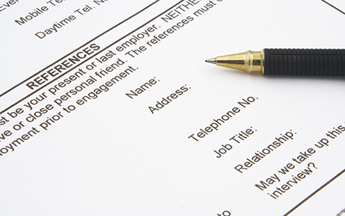 Have a clear policy on references to ensure consistency (Picture: iStock)