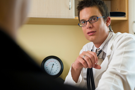 Tell patients if their referral letter will be sent via a management centre and seek their consent (image: iStock)