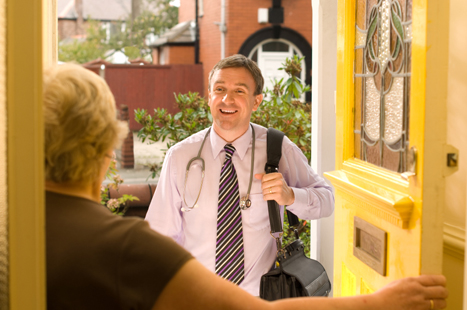 Practices will provide home visits to patients registered out of area (Picture: iStock)