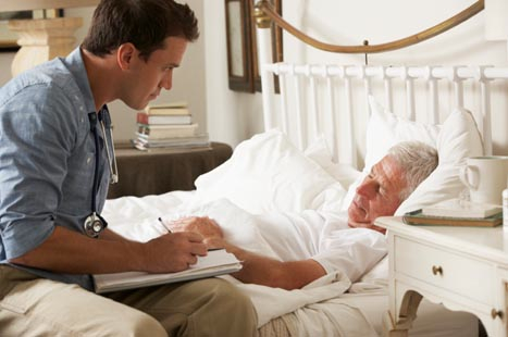 Many patients prefer to be cared for at home (image: iStock)